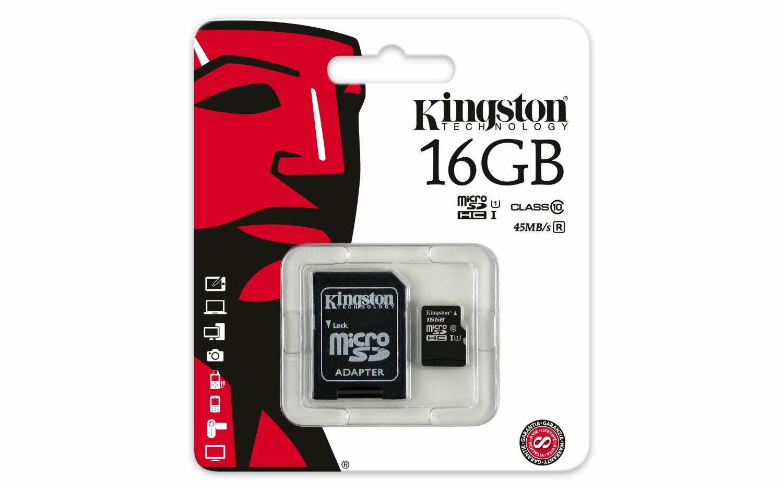 KINGSTON TRANS FLASH 16 GB (SDC4/16GB)