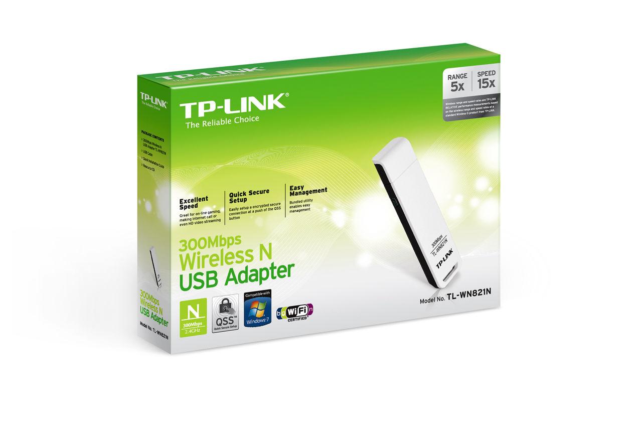 Chiavetta Wi-Fi 300MBPS TP-LINK TL-WN821N