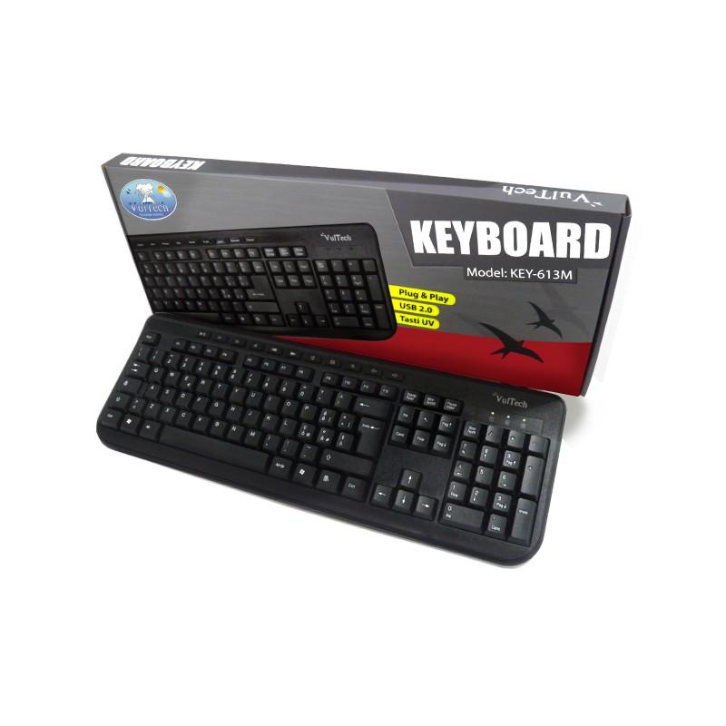 Tastiera Multimediale USB Vultech KEY-613M