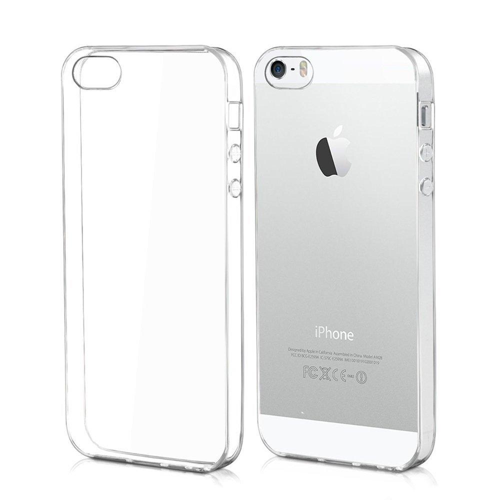 Cover TPU Trasparente Apple Iphone 5/5s 0,3mm
