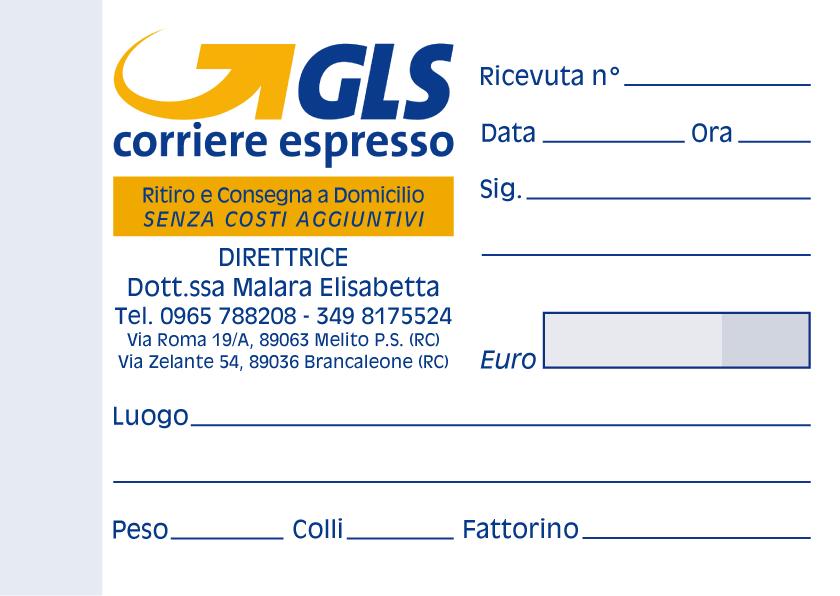 GLS Malara Ricevute