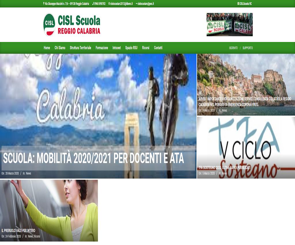CISL Scuola Reggio Calabria